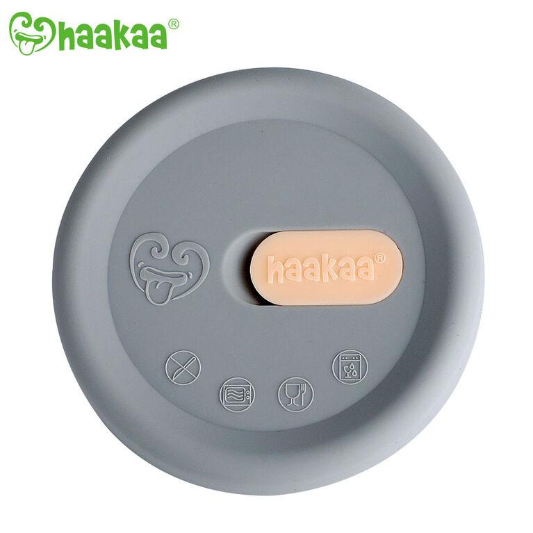 Haakaa Silicone Breast Pump Lid - English Edition
