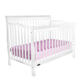 Kidiway Jessie 4-in-1 Convertible Crib - White