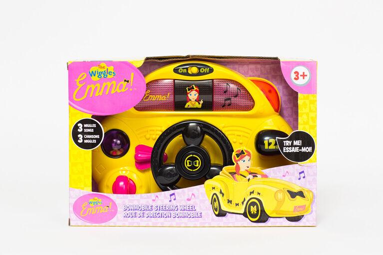 The Wiggles Emma Bowmobile Steering Wheel