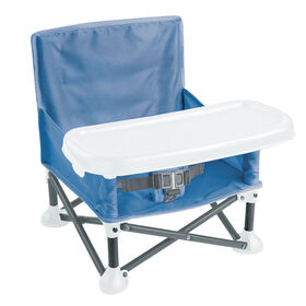 Summer Infant Pop N Sit Portable Booster - Dusty Blue