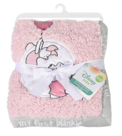 Disney Winnie the Pooh My First Blankie- Pink