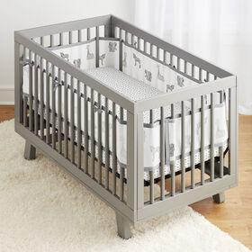 Breathable Baby Ensemble Literie 3 Pièces Pour Lit De Bébé- Animaux