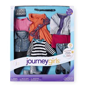 Journey Girls - Ensemble super mode - 15 pièces