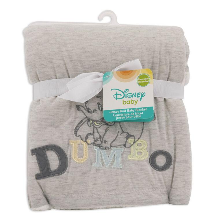 Disney Baby Jersey Knit Baby Blanket- Dumbo
