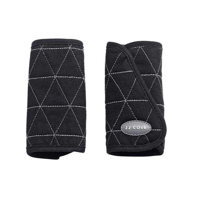 JJ Cole Car Seat Reversible Strap Covers - Black