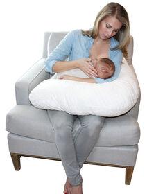 Jolly Jumper Boomerang Nursing Cushion - White