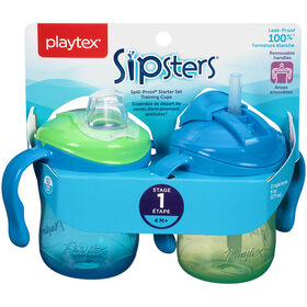 Playtex - TrainingTime Starter Set - Green/Blue