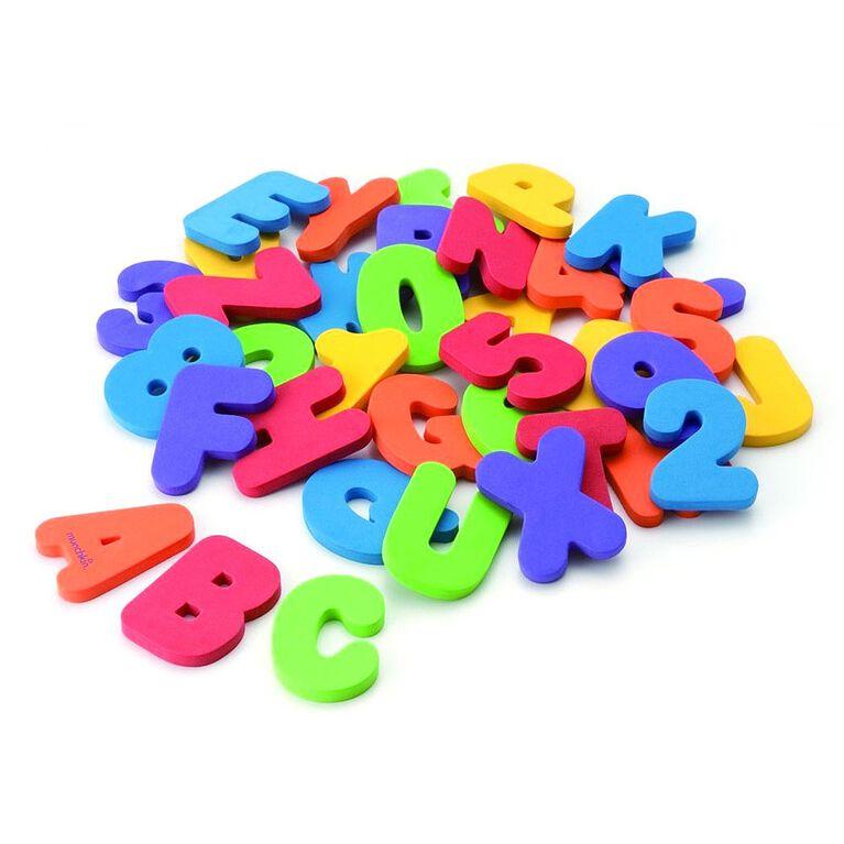Lettres et chiffres pour le bain par Munchkin.