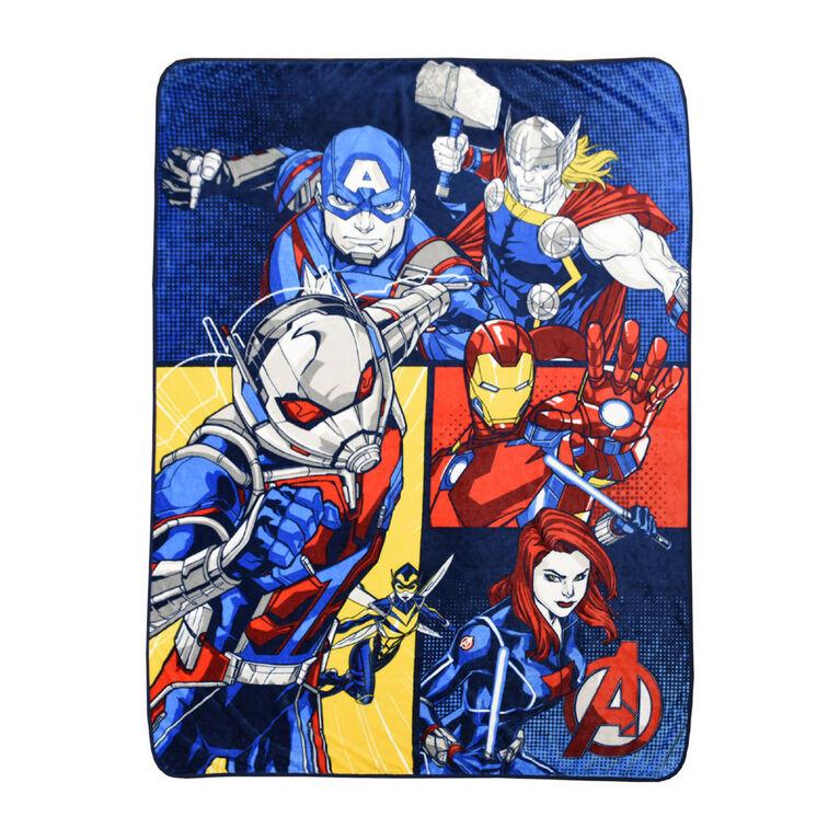 Couverture en micro-peluche Avengers