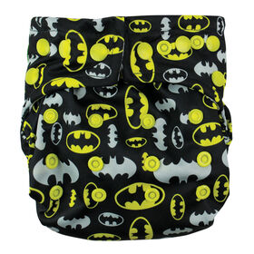 Bumkins Snap-in-One Diaper - Batman