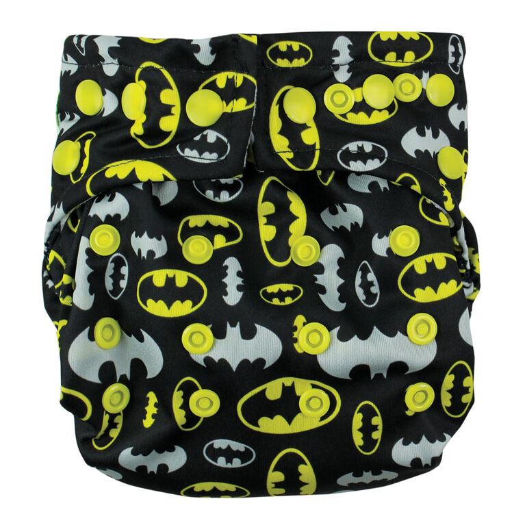 Bumkins Snap-in-One Diaper - Batman