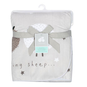 Just Born Counting Sheep Collection Plush Blanket