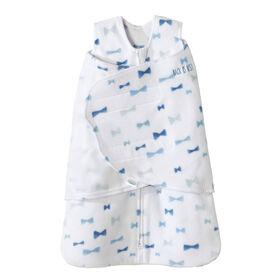 HALO SleepSack Swaddle - Micro Toison - Blue Bowties - Nouveau Nee.