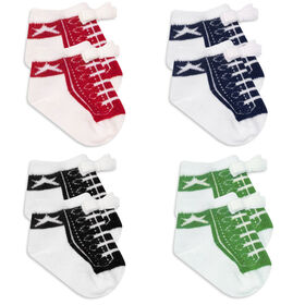Baby Essentials 4-Pack Socks - English Edition
