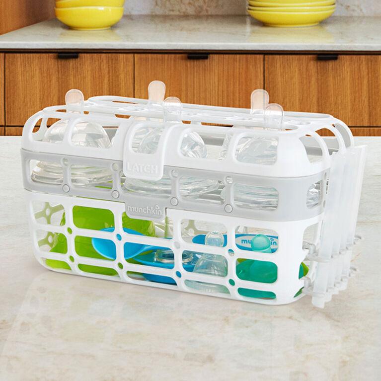 Munchkin High Capacity Dishwasher Basket - Grey