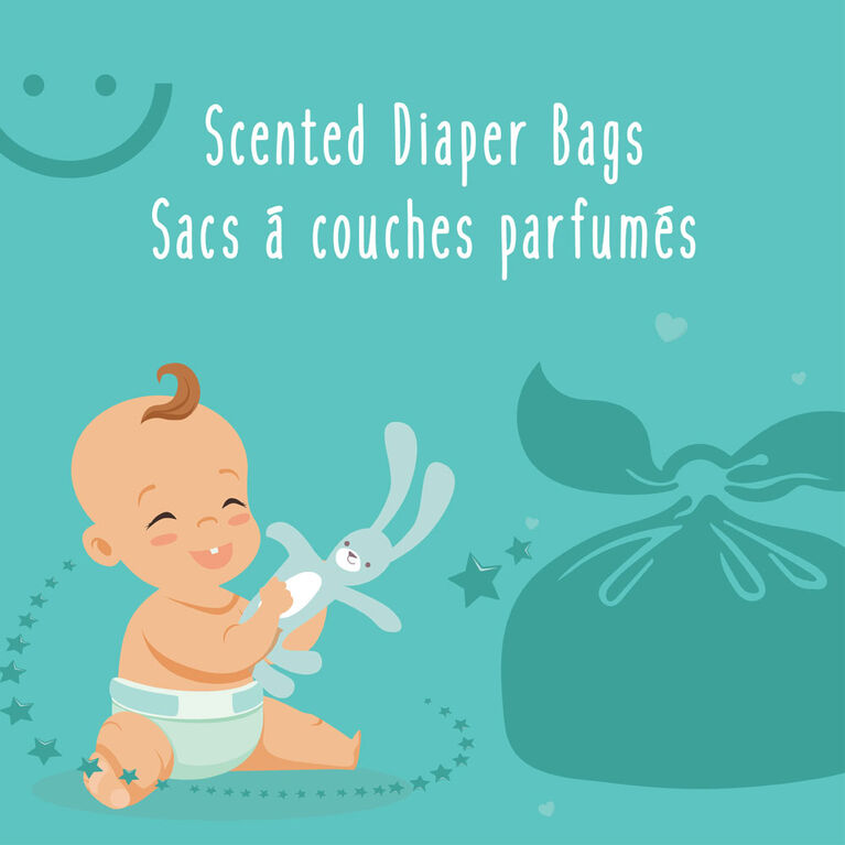 Baby Works Scented Diaper Bags - 200 Count