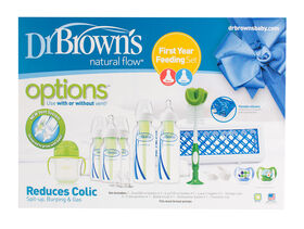 Dr. Brown's Options+ First Year Feeding Set