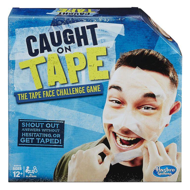 Hasbro Gaming - Jeu Caught on Tape.