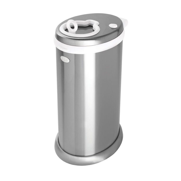 Ubbi Stainless Steel Diaper Pail - Chrome