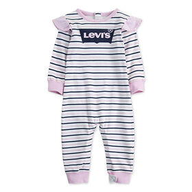 Levis Coverall - Pink, 6 Months
