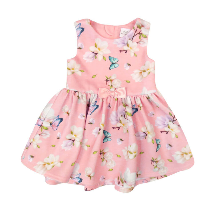 Rococo Hi Low Dress - Pink, 12 Months