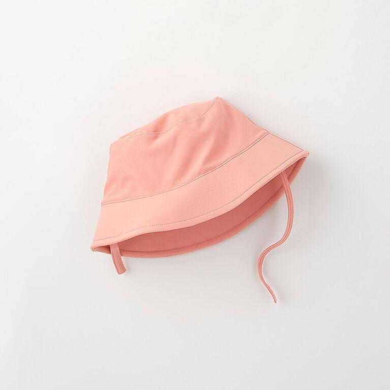 tp/p chapeau de bain à bord souple - rose pâle