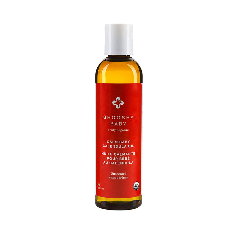 Shoosha Calm Baby Calendula Oil - Unscented
