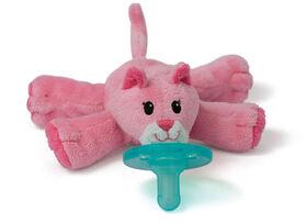 WubbaNub Infant Pacifier - Hot Pink
