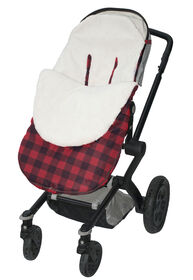Jolly Jumper Stroller Snuggle Bag - Red/Black