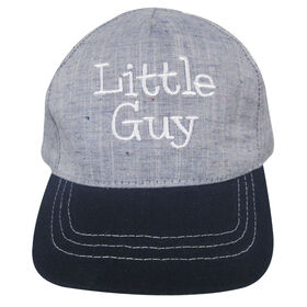 Baby B - Baseball Cap - Little Guy, Blue, 0-12M