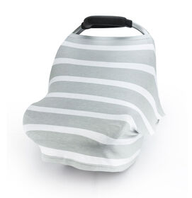 Canopy Stretch Covers - Grey Stripes