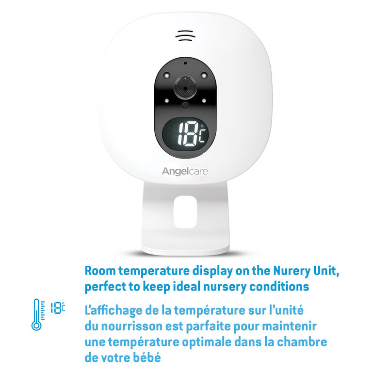 Angelcare AC337 Baby Breathing Monitor with Video
