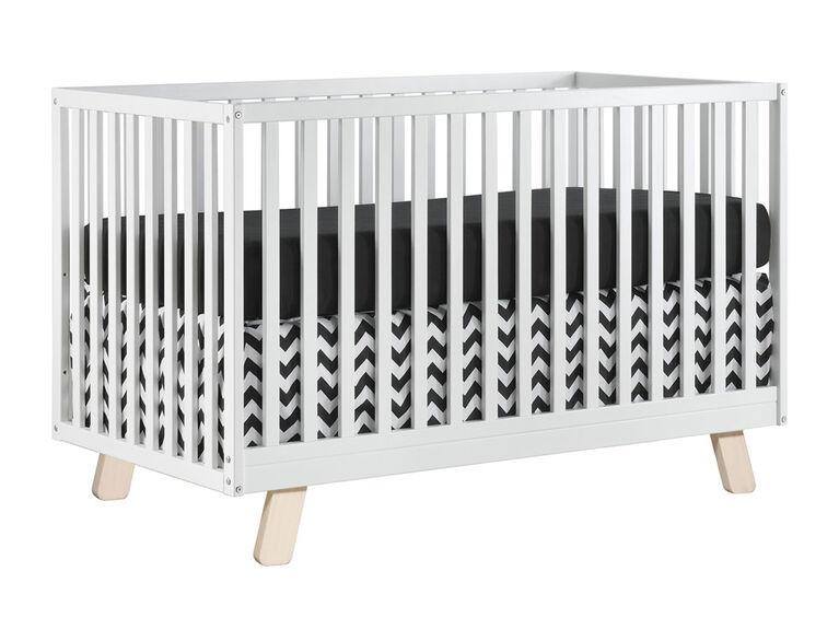 Oxford Baby - Lit De Bébé Blanc Moderne Onni