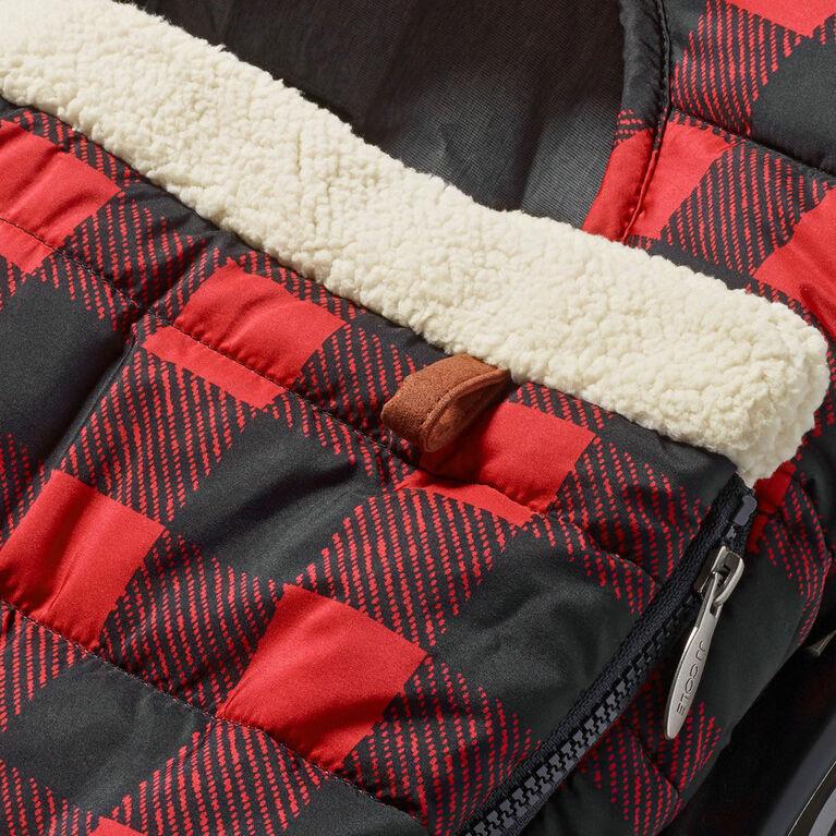 JJ Cole Car Seat Cover - Buffalo Check