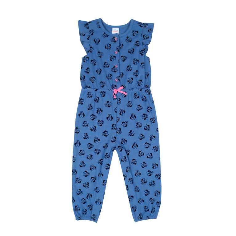 Disney Minnie Mouse 1 piece Romper - Blue, 6 months