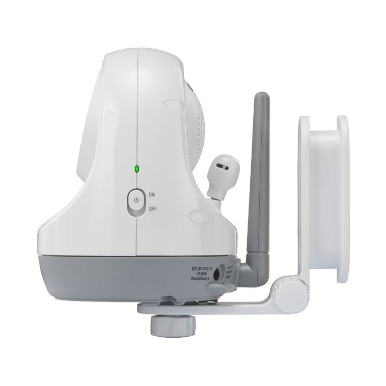 """VTech VM3261-2 2.8"""" Digital Video Baby Monitor with 2 Pan & Tilt Camera, Full Color and Automatic Night Vision, White"""