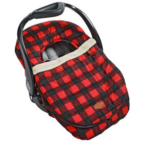 JJ Cole Car Seat Cover - Buffalo Check