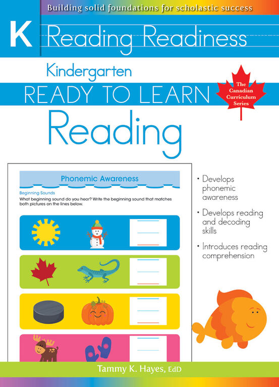 Kindergarten - Ready To Learn Reading - English Edition