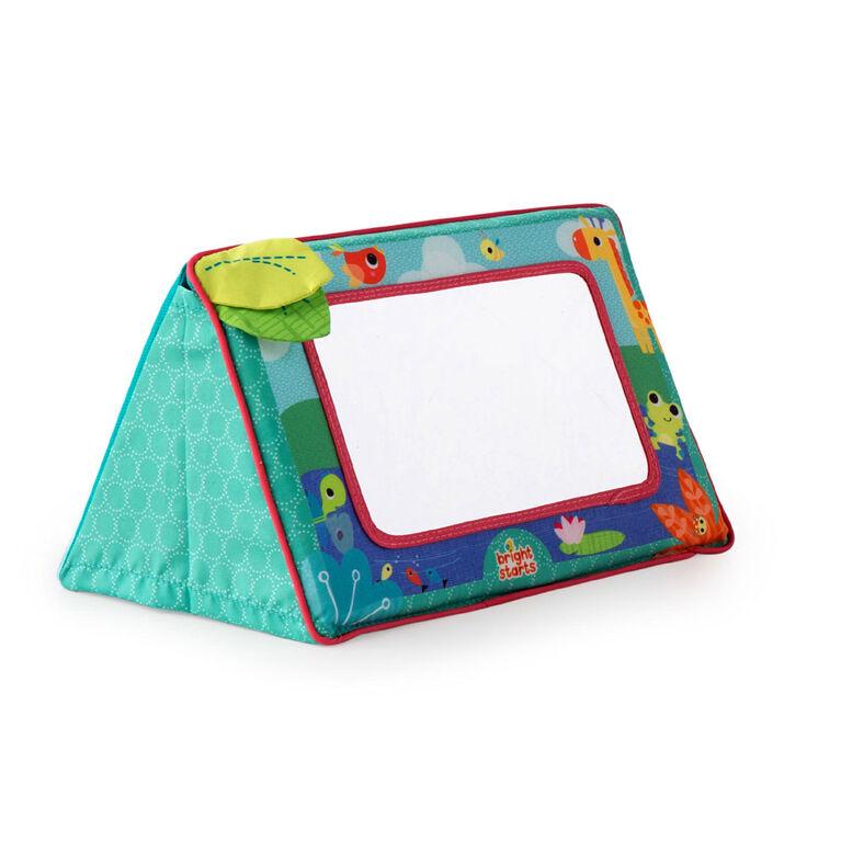 Bright Starts - Sit & See Safari Floor Mirror