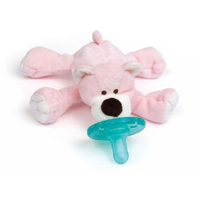 WubbaNub Pacifier - Pink Bear