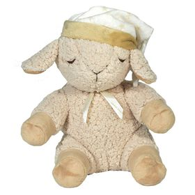 Mouton en peluche avec sons apaisants de Cloud B Sleep Sheep Smart Sensor.