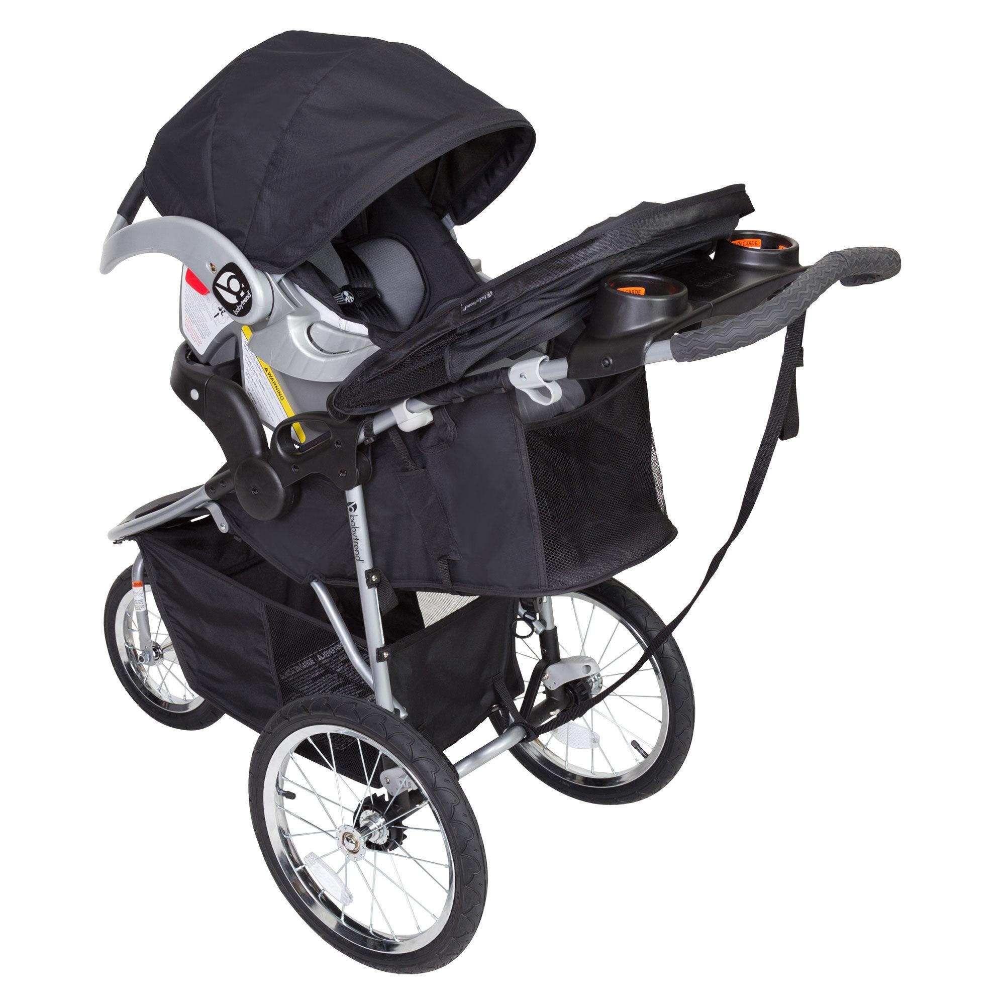Baby Trend - Poussette de jogging Cityscape - Ardoise noire