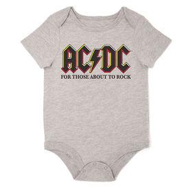 AC/DC Bodysuit Grey 18M