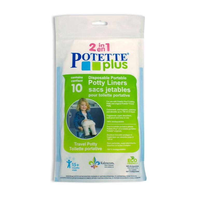 Sacs pour toilette portative de Potette Plus.