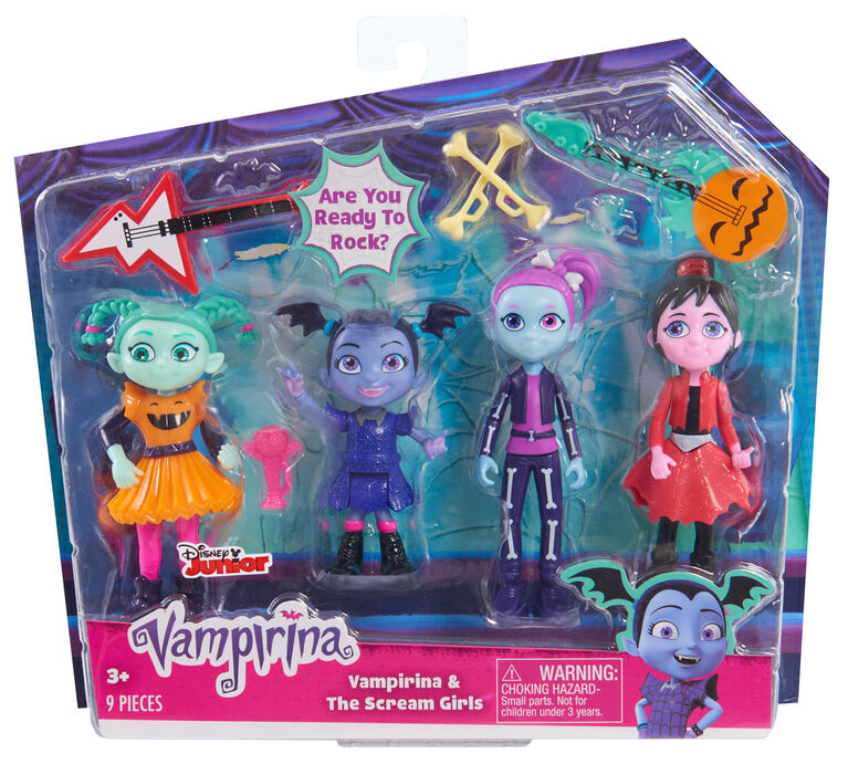 Ensemble des Scream Girls de Vampirina