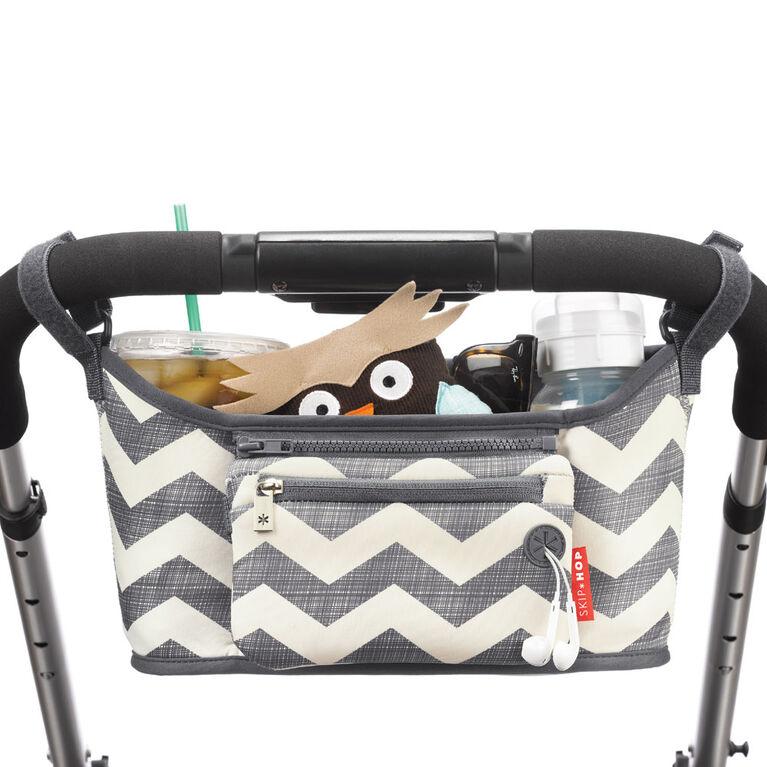 Skip Hop Grab & Go Stroller Organizer, Chevron