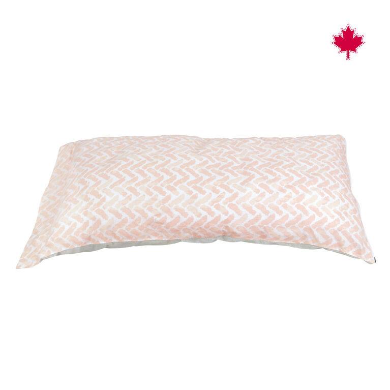 Perlimpinpin Nursing Muff- Chevrons Pink