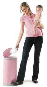 Diaper Dekor Kolor Plus Diaper Pail – Soft Pink