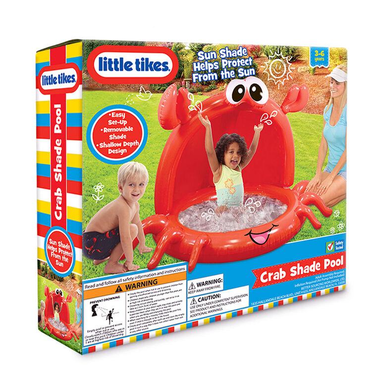 Piscine recouverte à motif de crabes Little Tikes