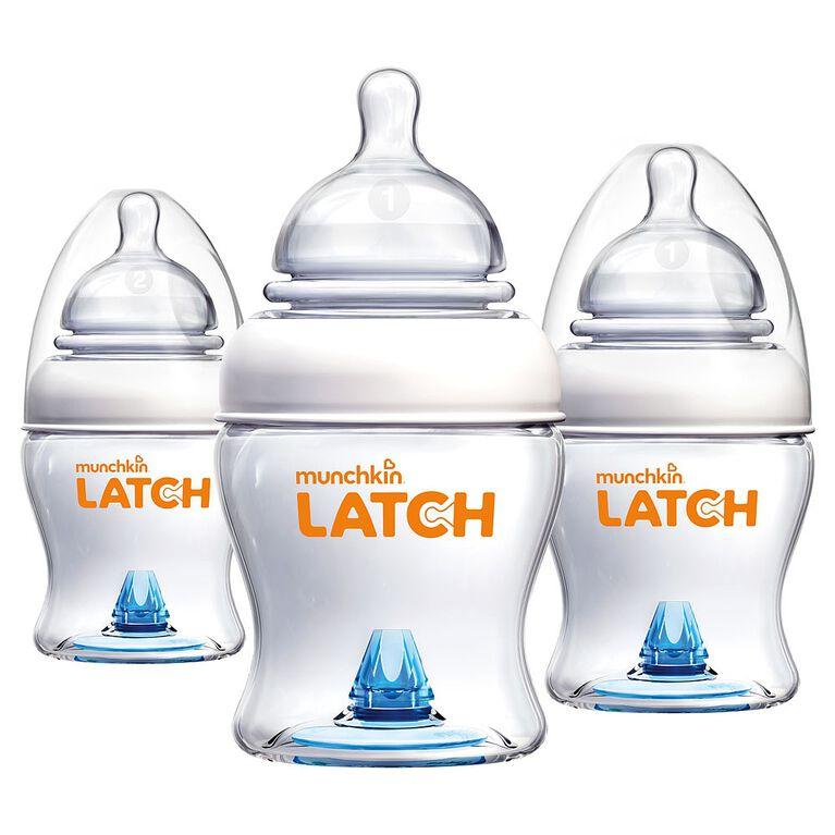 Munchkin - LATCH Bottle - 4oz - 3 Pack